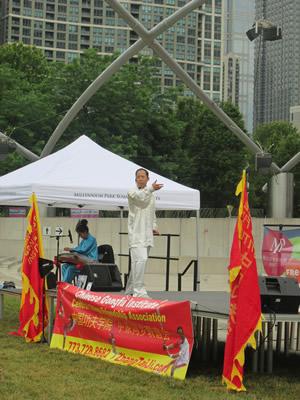 Master Zhang Tai Ji Seminars In Millenium Park